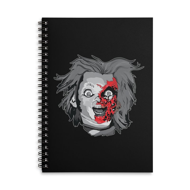 Hide the Soul (CHUCKY ONLY) Accessories Lined Spiral Notebook by Cold Lantern Design