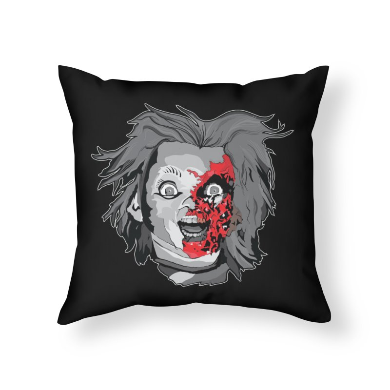 Hide the Soul (CHUCKY ONLY) Home Throw Pillow by Cold Lantern Collection