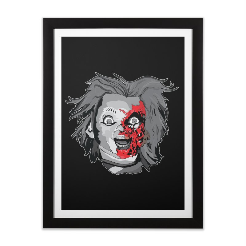 Hide the Soul (CHUCKY ONLY) Home Framed Fine Art Print by Cold Lantern Collection
