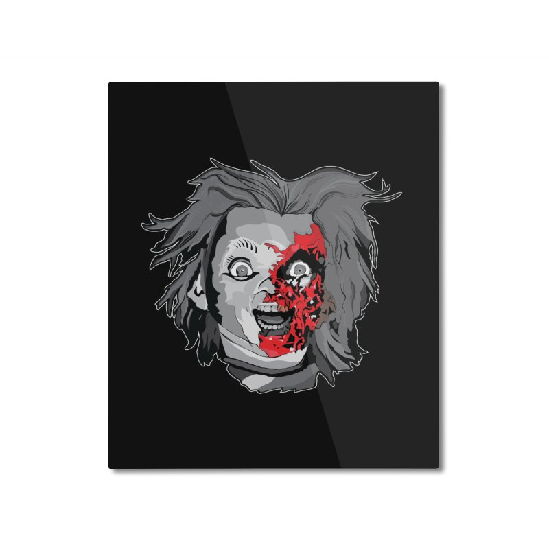Hide the Soul (CHUCKY ONLY) Home Mounted Aluminum Print by Cold Lantern Collection