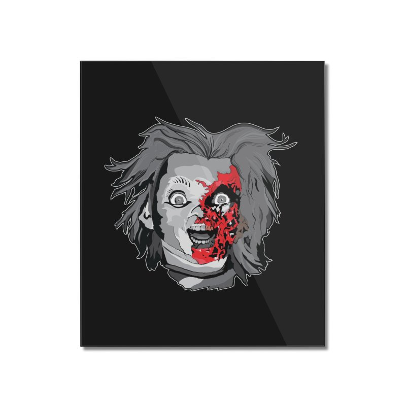Hide the Soul (CHUCKY ONLY) Home Mounted Acrylic Print by Cold Lantern Collection