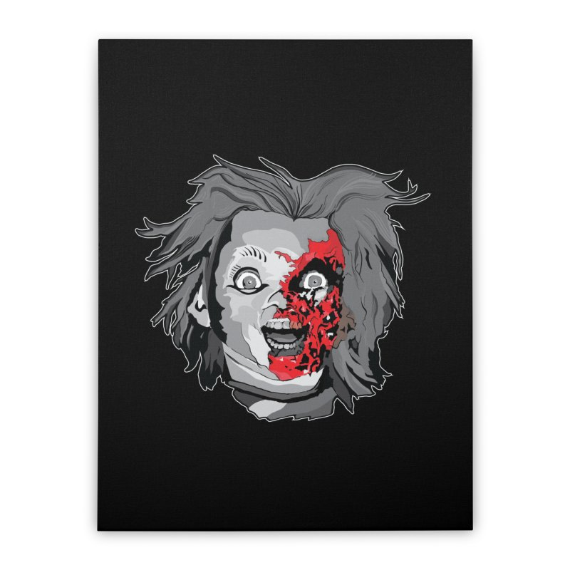 Hide the Soul (CHUCKY ONLY) Home Stretched Canvas by Cold Lantern Design