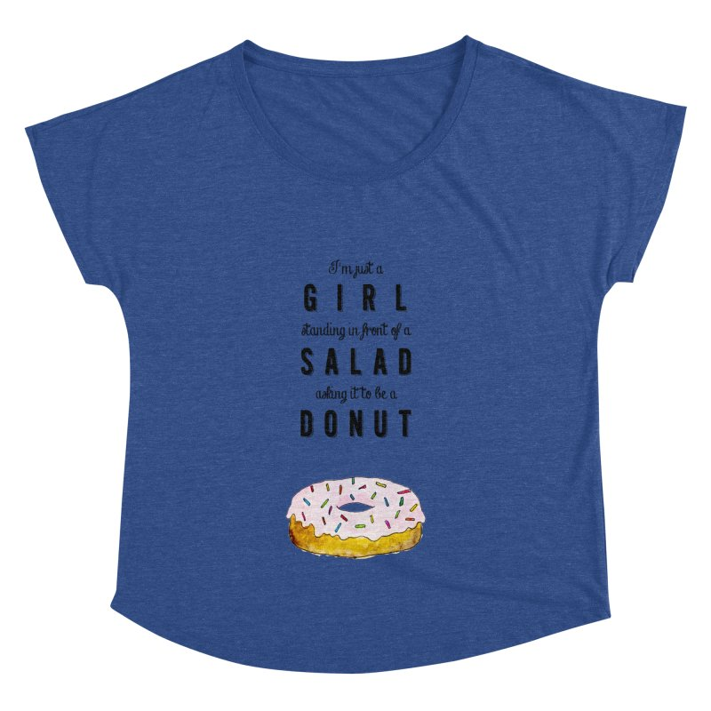 Girl and a donut Women's Dolman by Colette's Shop