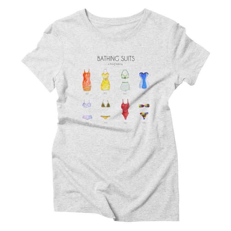 Bathing suits Women's Triblend T-Shirt by Colette's Shop