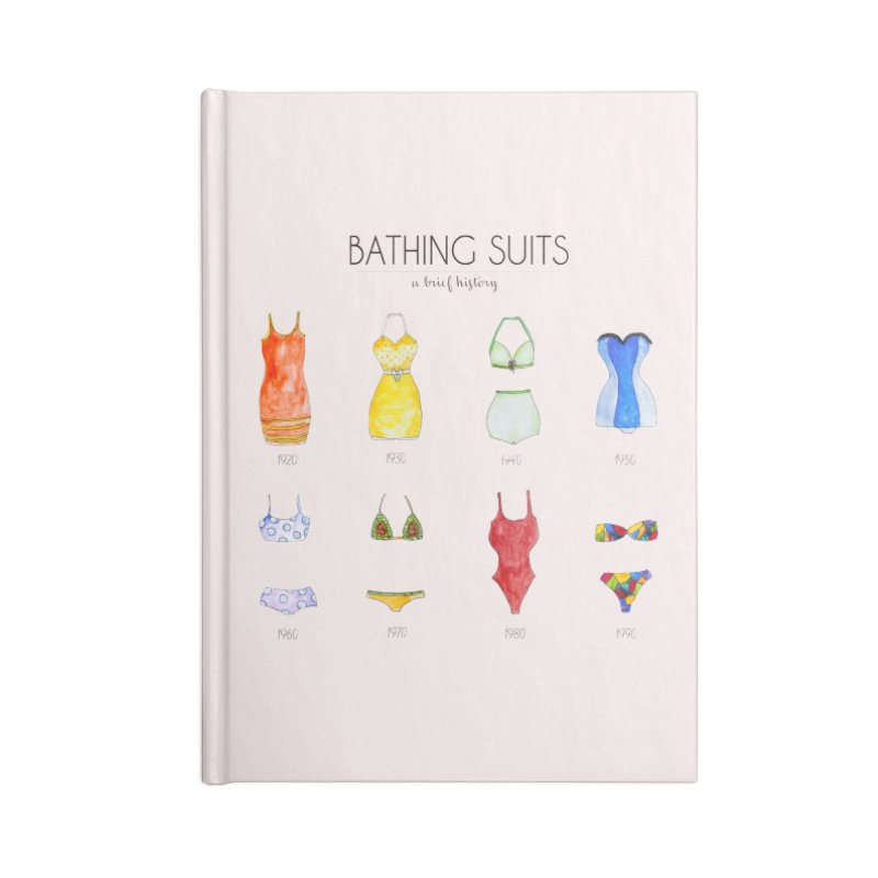 Bathing suits Accessories Notebook by Colette's Shop