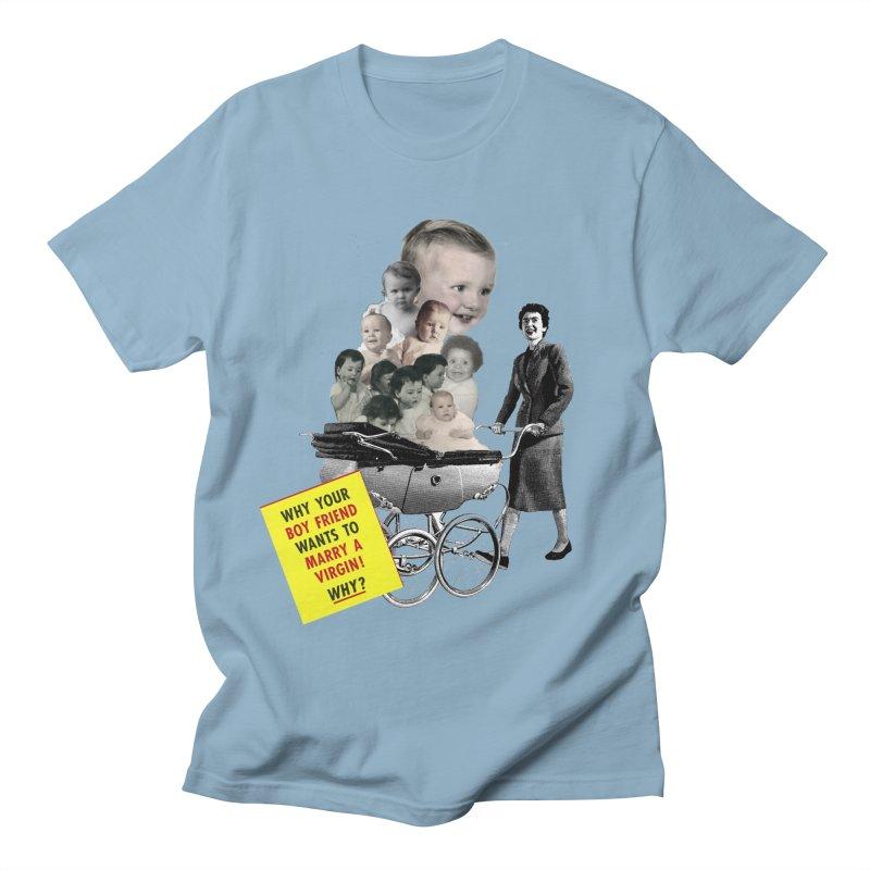 Marry a virgin Men's T-shirt by Colette's Shop
