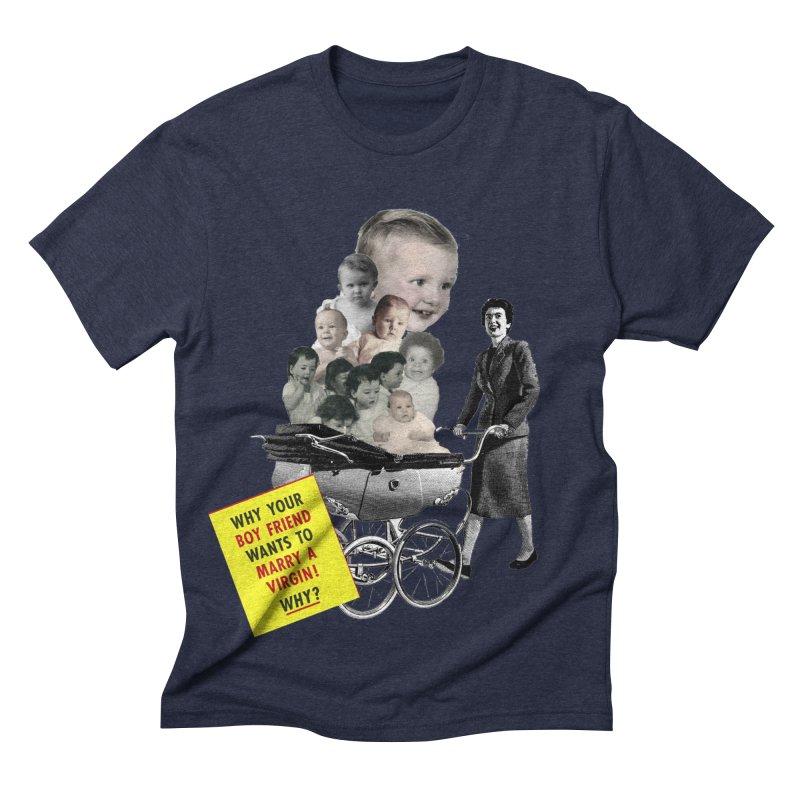 Marry a virgin Men's Triblend T-shirt by Colette's Shop