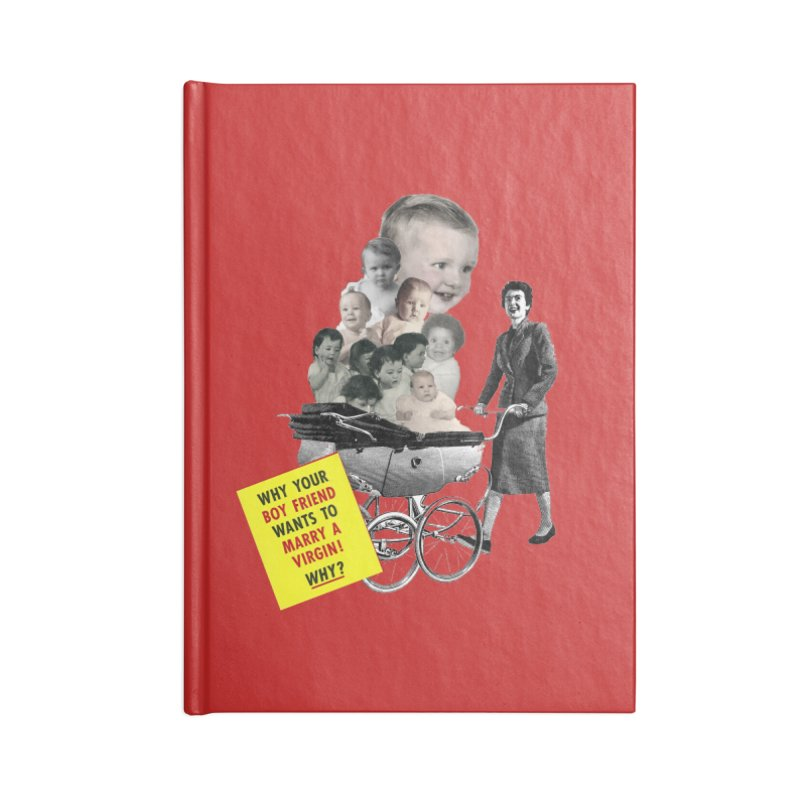 Marry a virgin Accessories Notebook by Colette's Shop