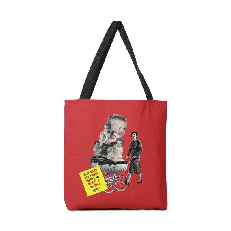 Marry a virgin Accessories Bag by Colette's Shop