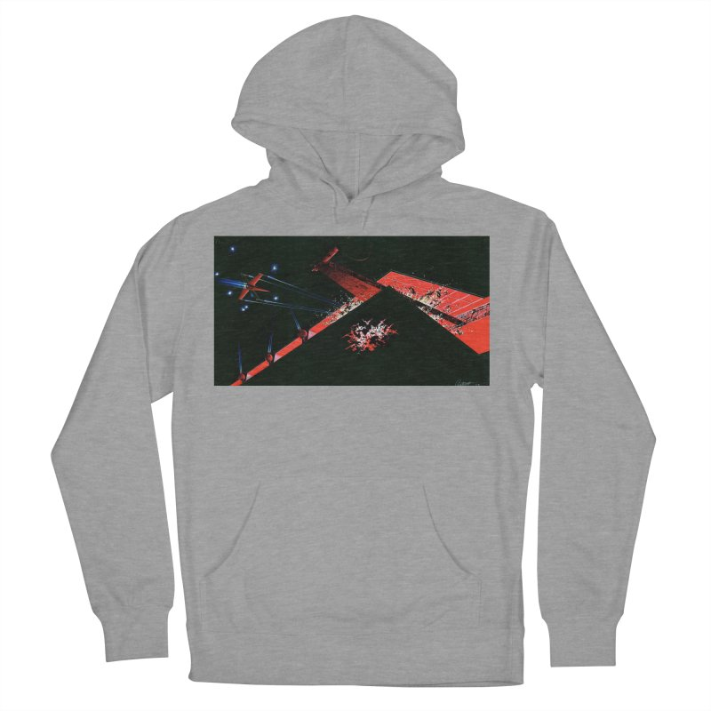 Spaceship Concept 1 Women's Pullover Hoody by Colin Cantwell