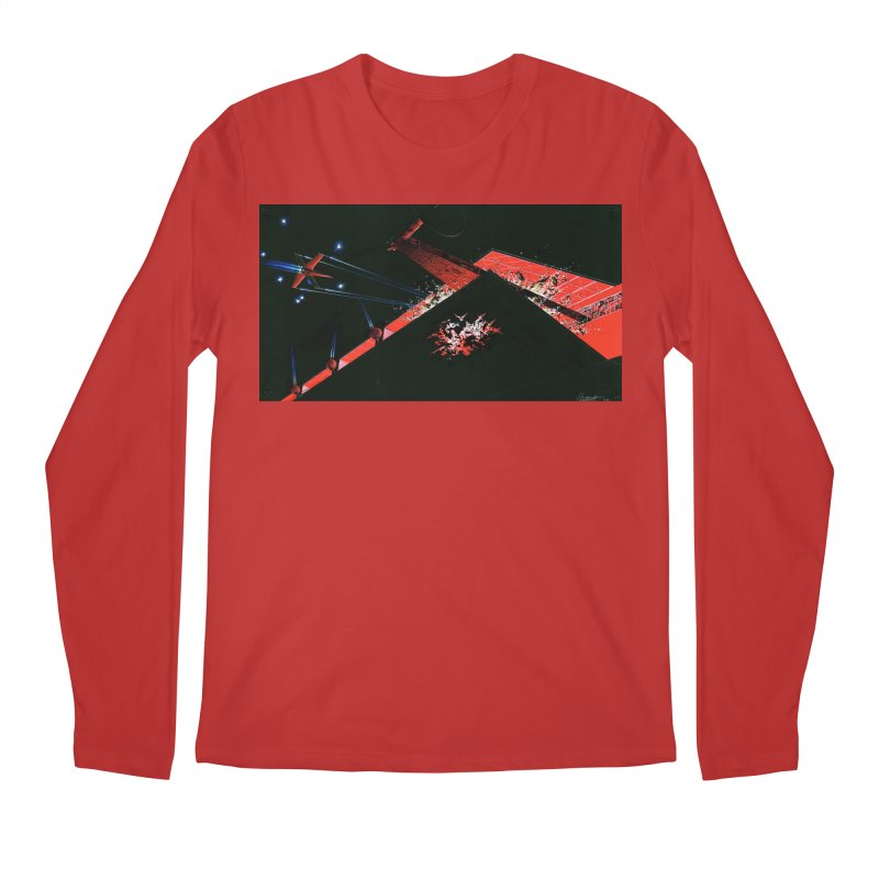 Spaceship Concept 1 Men's Regular Longsleeve T-Shirt by Colin Cantwell