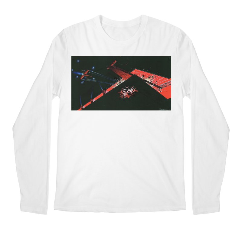 Spaceship Concept 1 Men's Longsleeve T-Shirt by Colin Cantwell