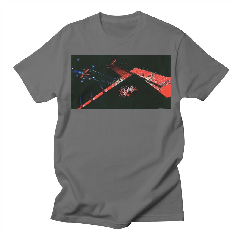 Spaceship Concept 1 Men's T-Shirt by Colin Cantwell
