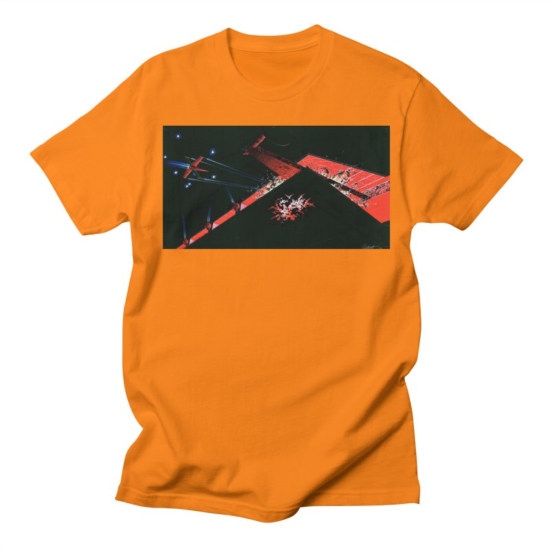 Spaceship Concept 1 Men's Regular T-Shirt by Colin Cantwell