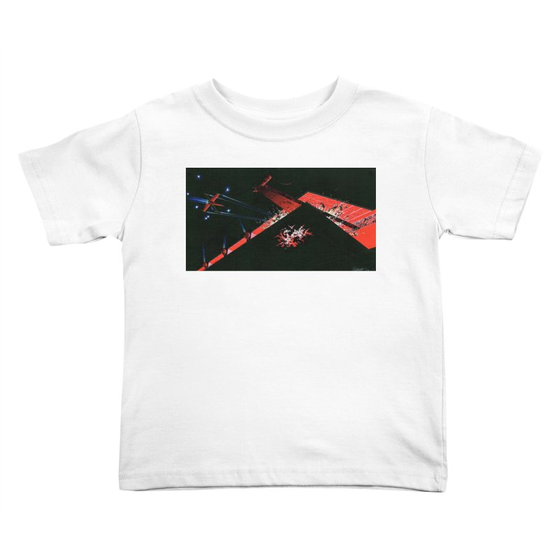 Spaceship Concept 1 Kids Toddler T-Shirt by Colin Cantwell