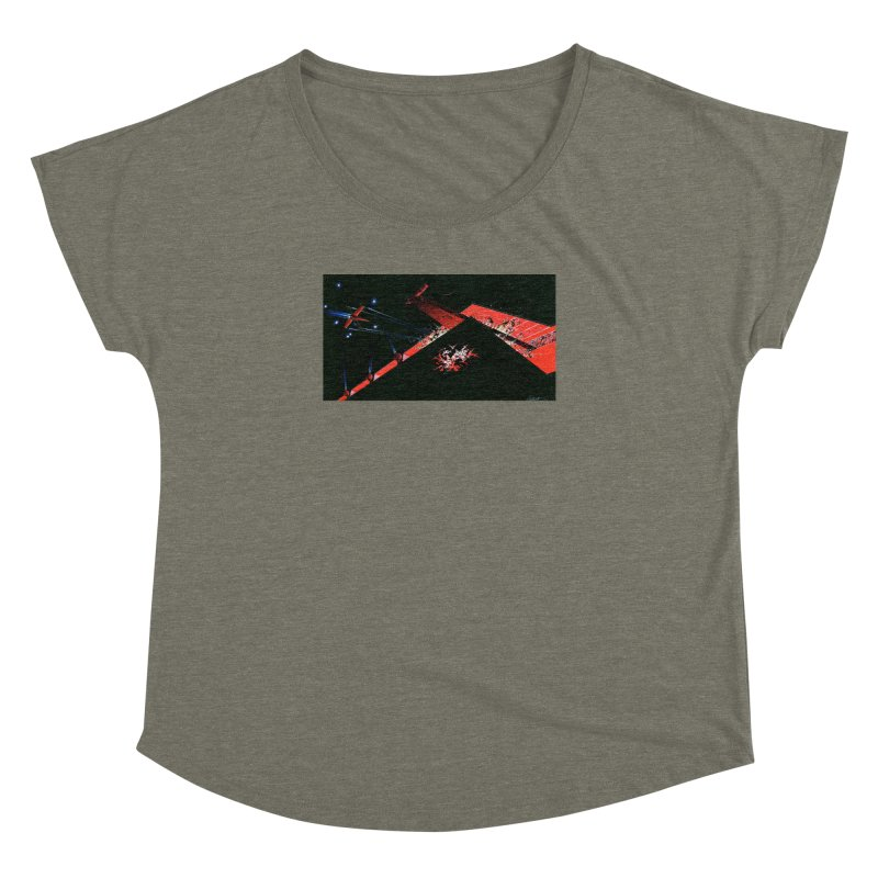 Spaceship Concept 1 Women's Dolman by Colin Cantwell