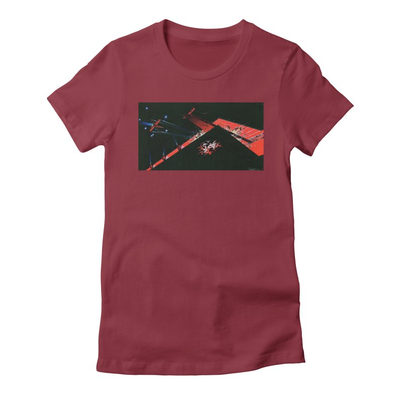 Spaceship Concept 1 Women's T-Shirt by Colin Cantwell