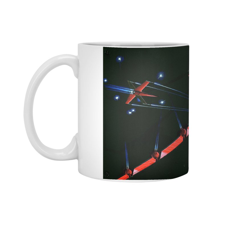 Spaceship Concept 1 Accessories Standard Mug by Colin Cantwell