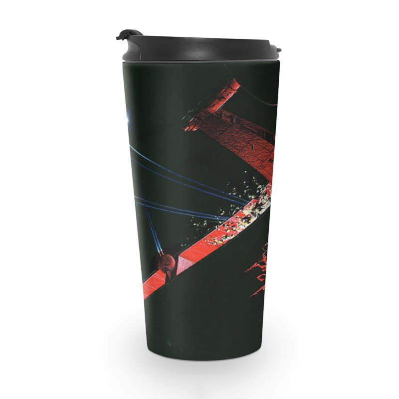 Spaceship Concept 1 Accessories Travel Mug by Colin Cantwell