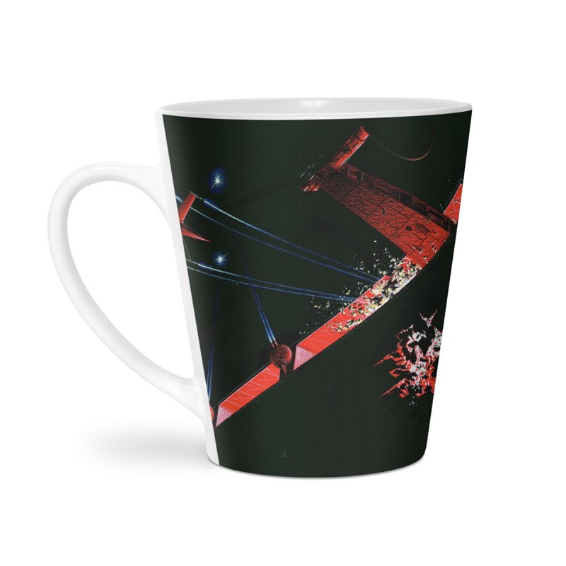Spaceship Concept 1 Accessories Latte Mug by Colin Cantwell
