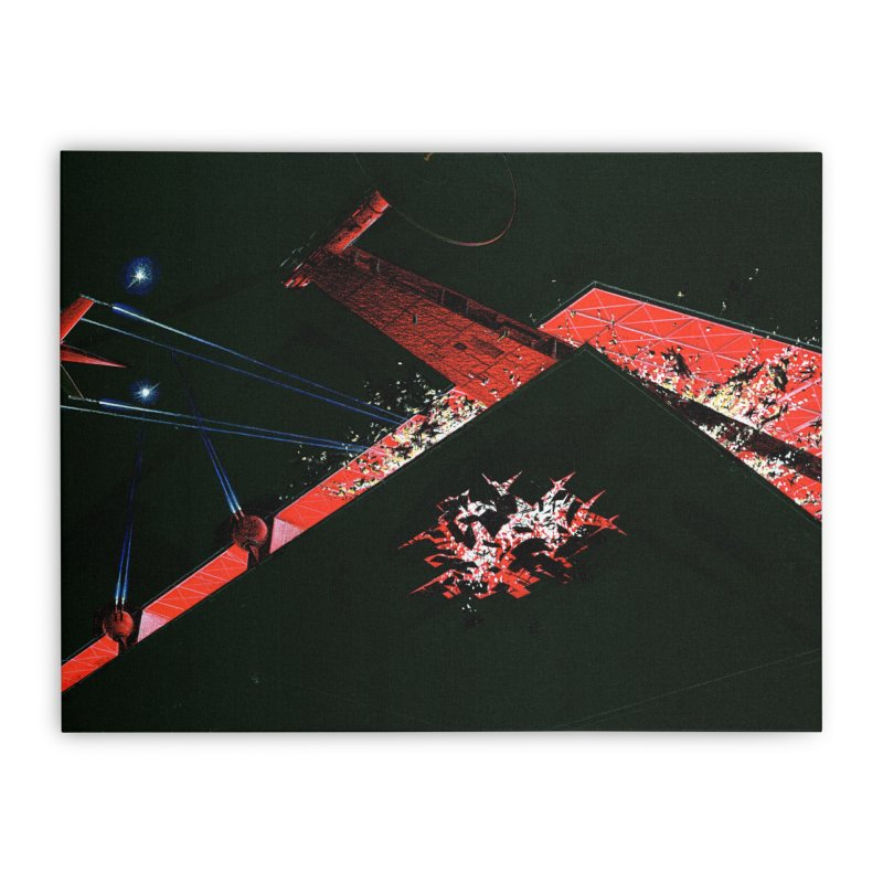 Spaceship Concept 1 Home Stretched Canvas by Colin Cantwell