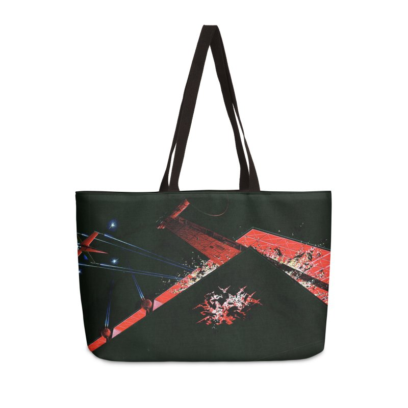 Spaceship Concept 1 Accessories Weekender Bag Bag by Colin Cantwell