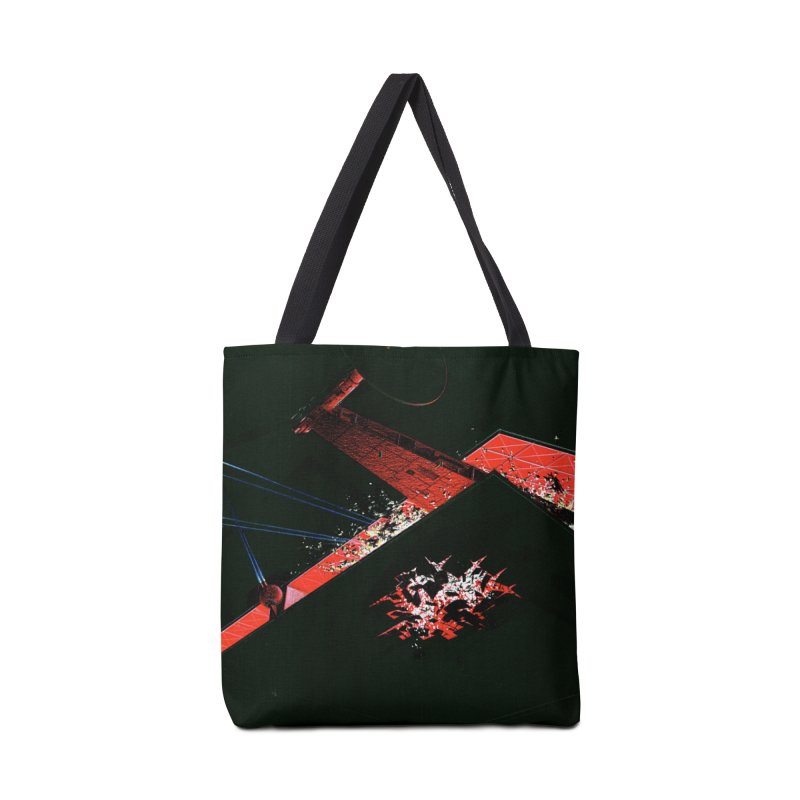 Spaceship Concept 1 Accessories Tote Bag Bag by Colin Cantwell