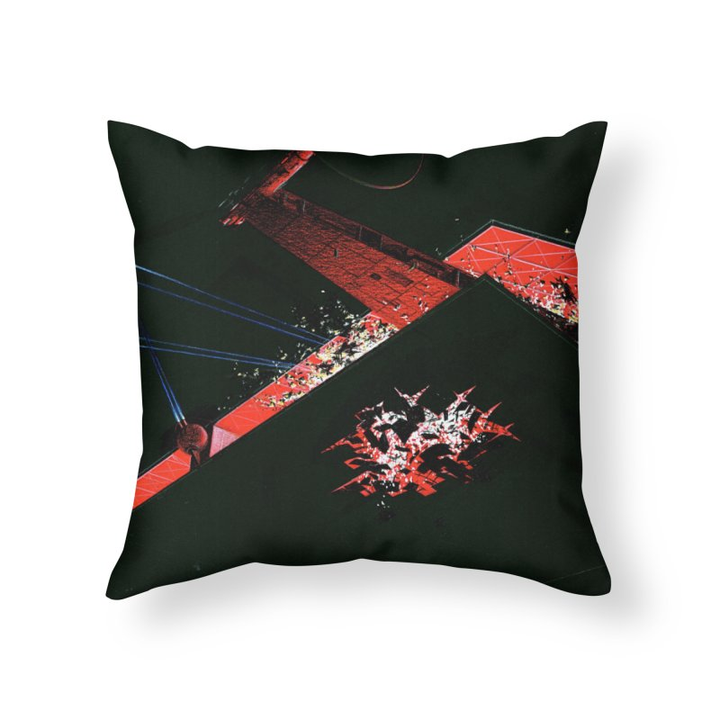 Spaceship Concept 1 Home Throw Pillow by Colin Cantwell