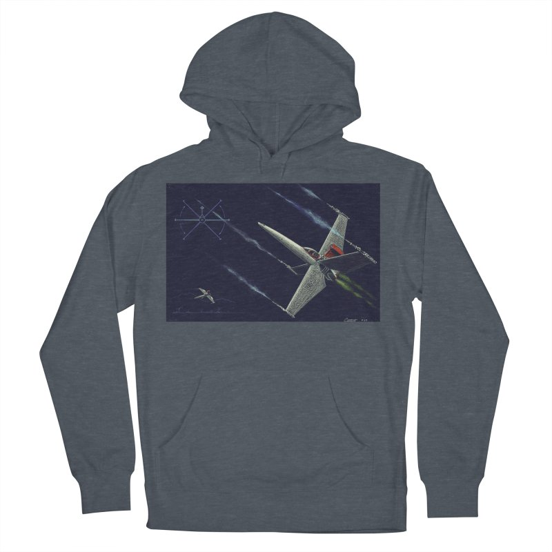 Concept 2 Men's French Terry Pullover Hoody by Colin Cantwell