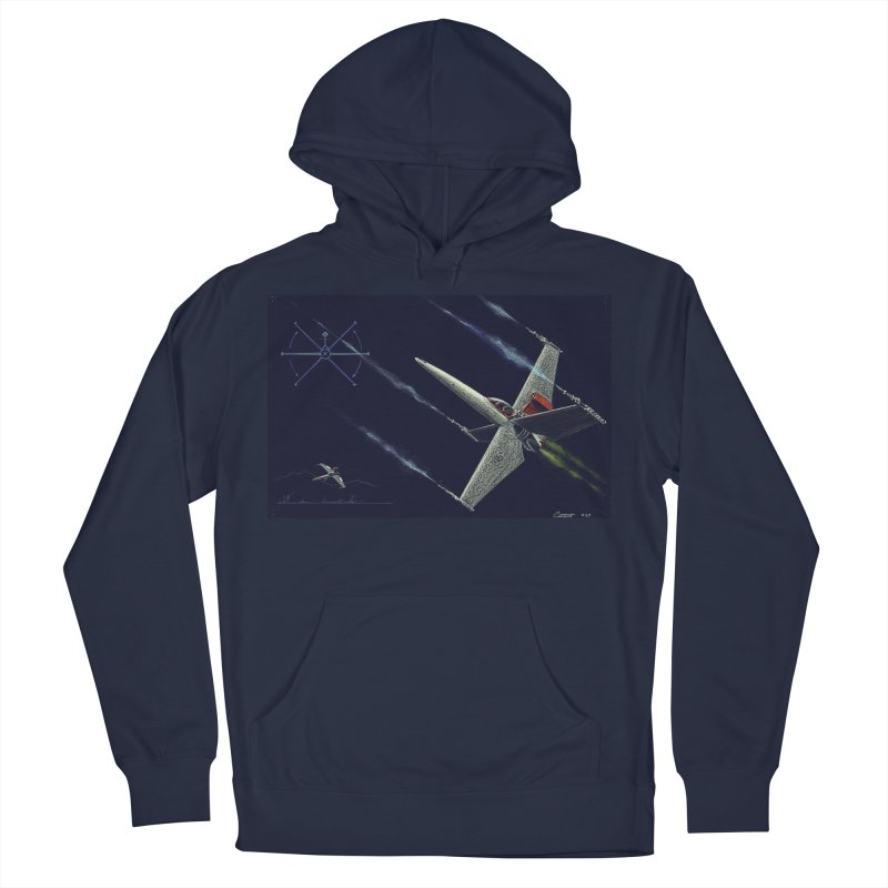 Concept 2 Men's Pullover Hoody by Colin Cantwell