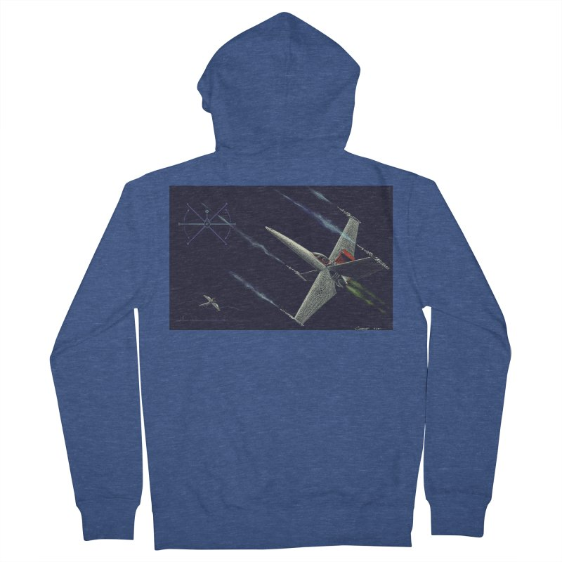 Concept 2 Men's French Terry Zip-Up Hoody by Colin Cantwell
