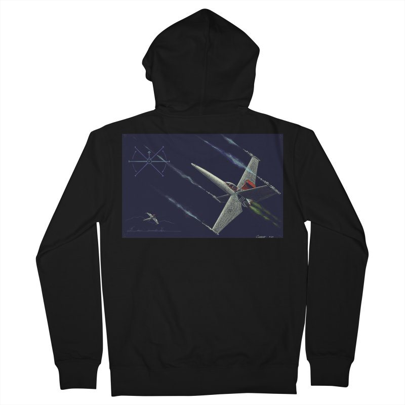 Concept 2 Men's Zip-Up Hoody by Colin Cantwell