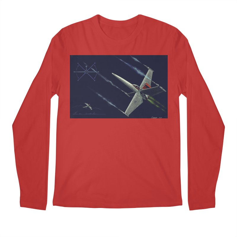 Concept 2 Men's Regular Longsleeve T-Shirt by Colin Cantwell