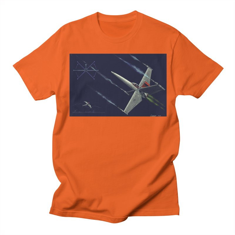 Concept 2 Men's Regular T-Shirt by Colin Cantwell