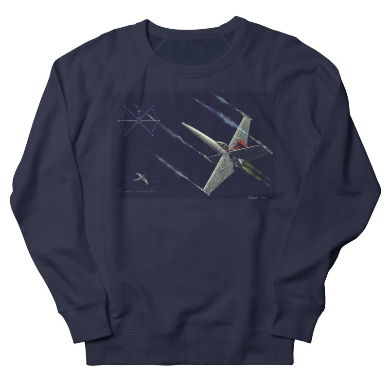 Concept 2 Women's French Terry Sweatshirt by Colin Cantwell