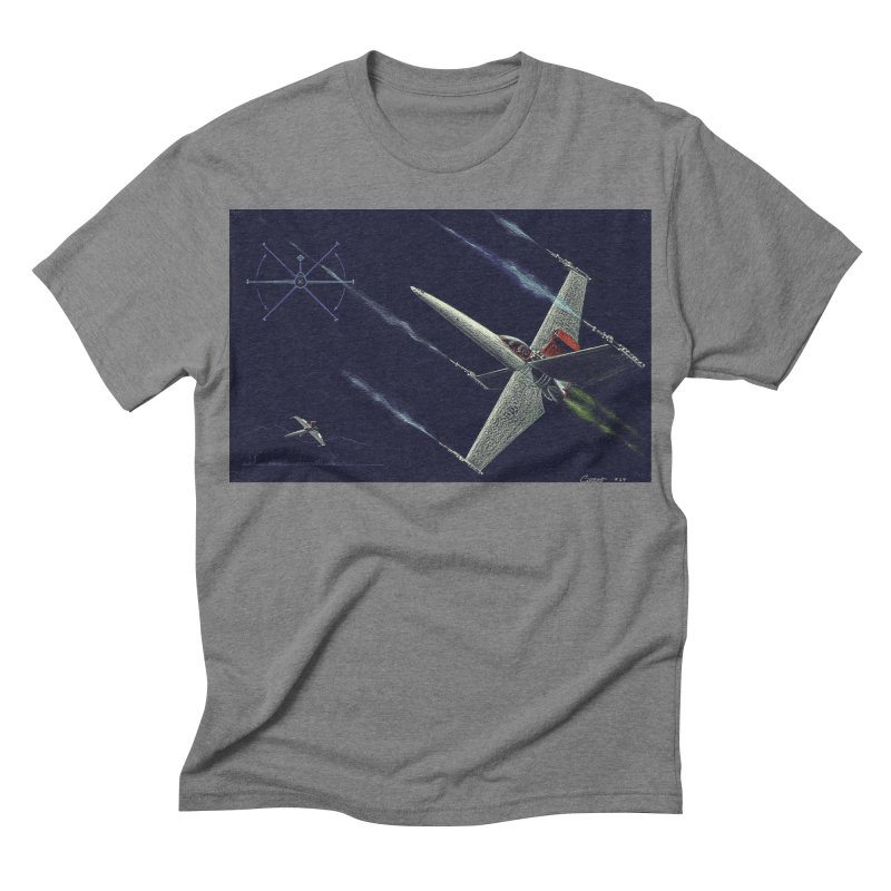 Concept 2 Men's Triblend T-shirt by Colin Cantwell