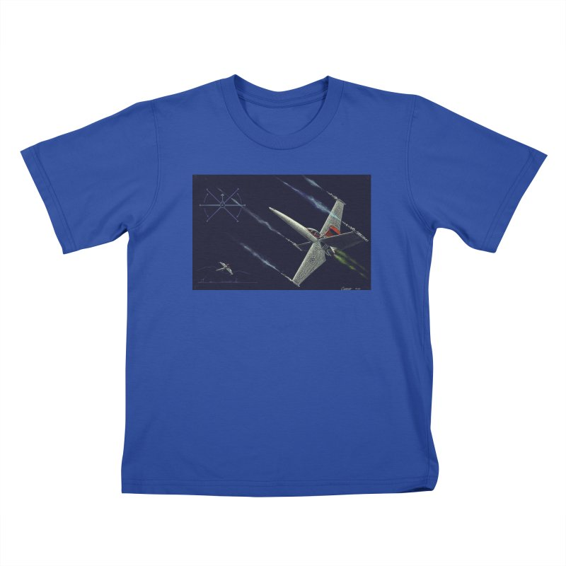 Concept 2 Kids T-Shirt by Colin Cantwell