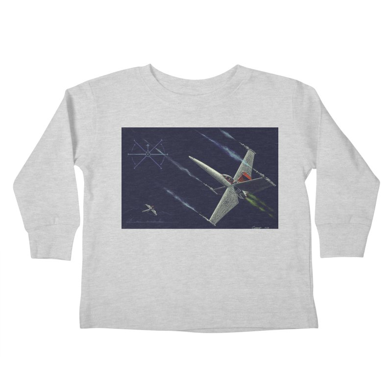 Concept 2 Kids Toddler Longsleeve T-Shirt by Colin Cantwell