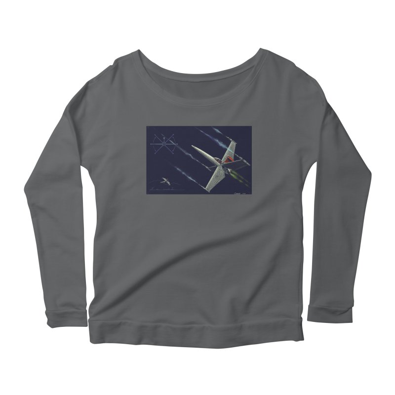 Concept 2 Women's Longsleeve T-Shirt by Colin Cantwell