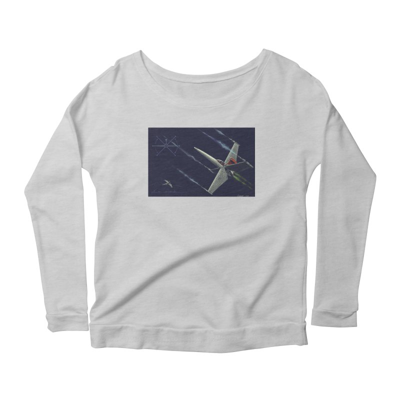 Concept 2 Women's Longsleeve Scoopneck  by Colin Cantwell
