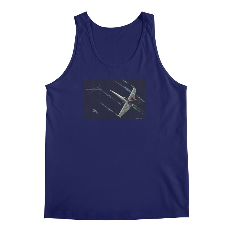 Concept 2 Men's Regular Tank by Colin Cantwell