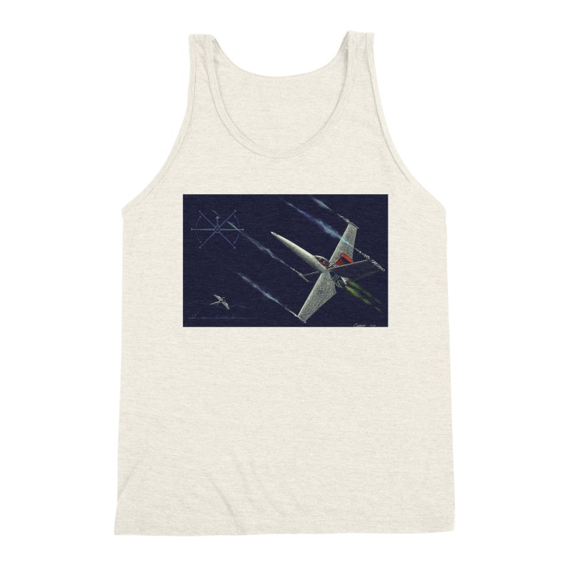 Concept 2 Men's Triblend Tank by Colin Cantwell