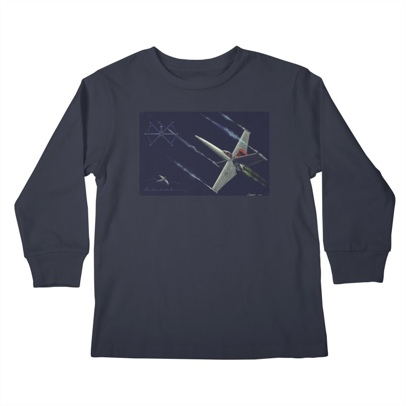 Concept 2 Kids Longsleeve T-Shirt by Colin Cantwell
