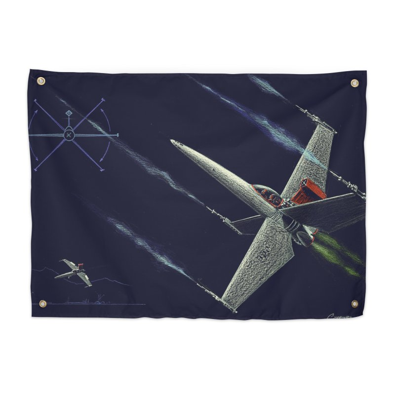 Concept 2 Home Tapestry by Colin Cantwell