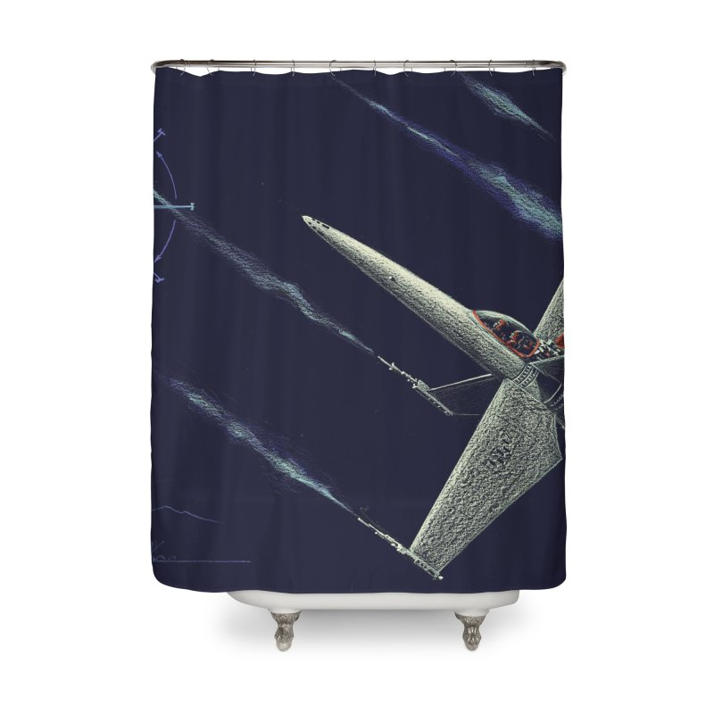 Concept 2 Home Shower Curtain by Colin Cantwell