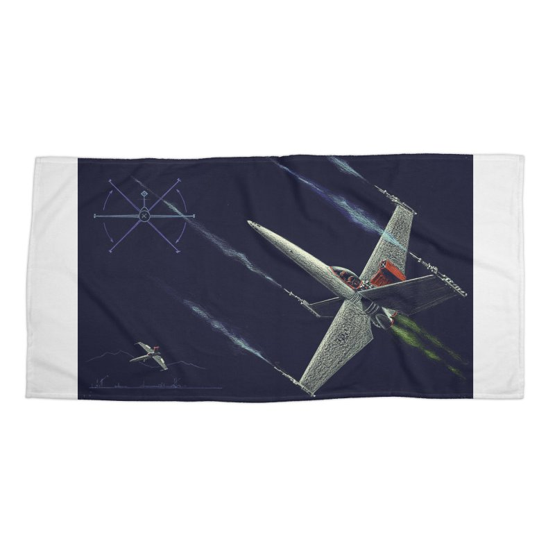 Concept 2 Accessories Beach Towel by Colin Cantwell
