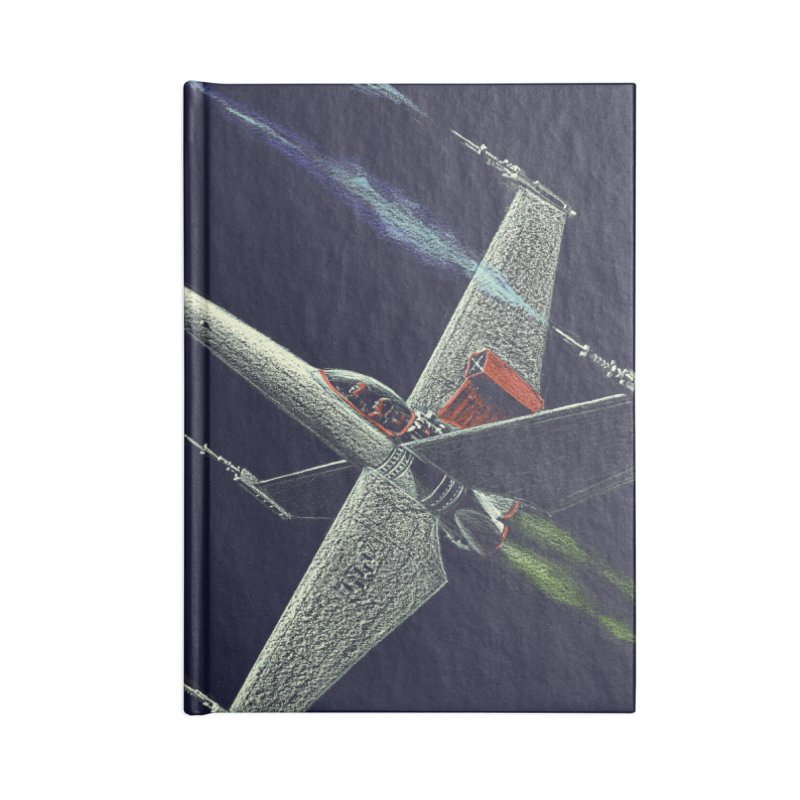Concept 2 Accessories Lined Journal Notebook by Colin Cantwell