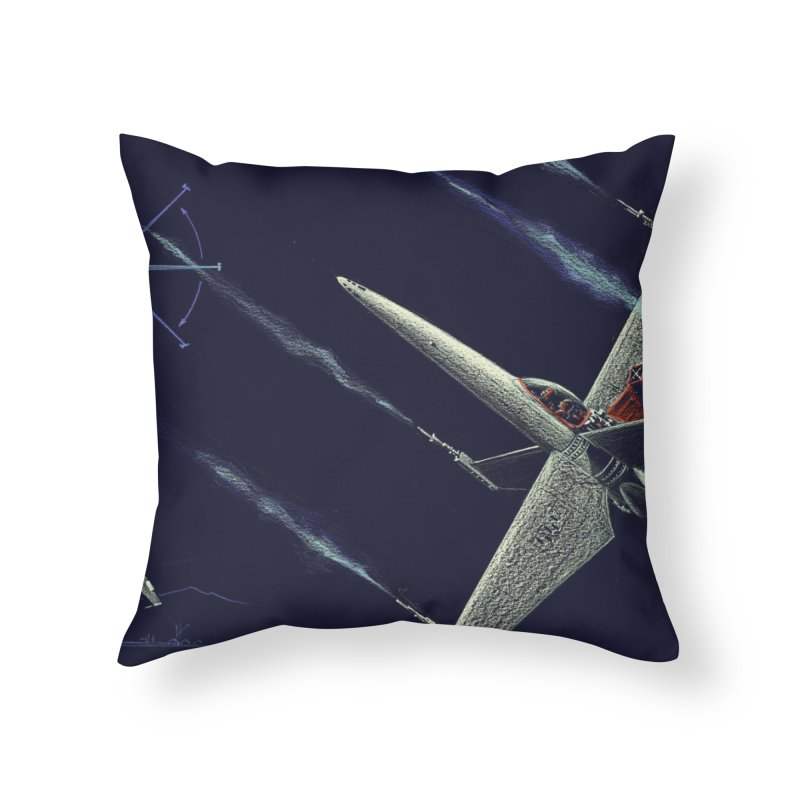 Concept 2 Home Throw Pillow by Colin Cantwell