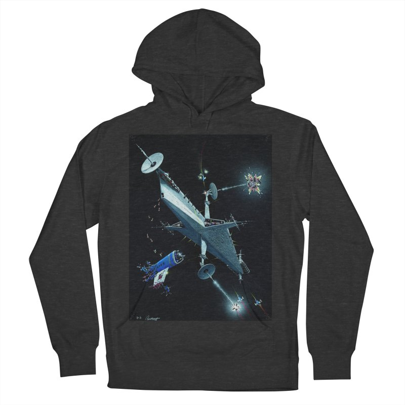 Concept 3 Men's French Terry Pullover Hoody by Colin Cantwell