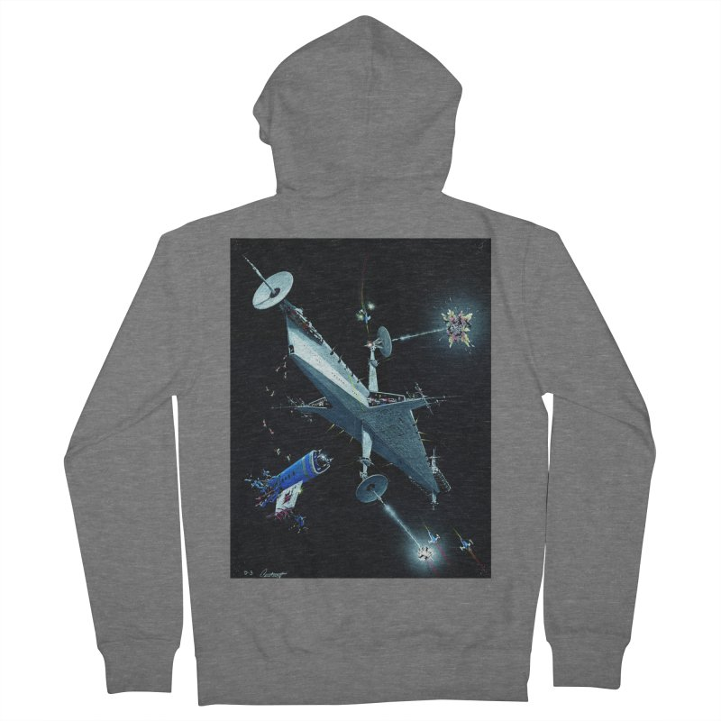 Concept 3 Men's French Terry Zip-Up Hoody by Colin Cantwell